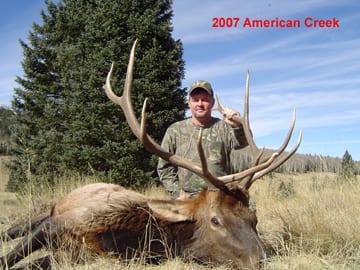 CS Amercian Creek Bull Elk Hunts